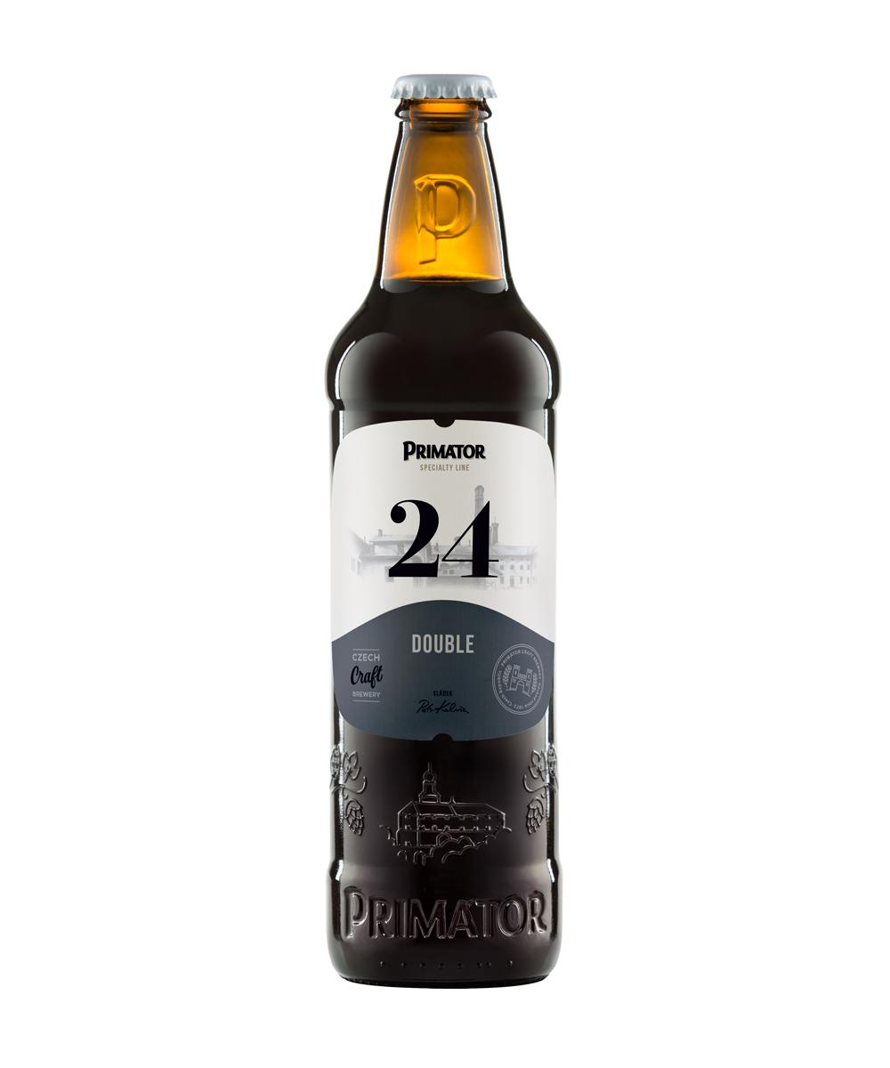láhvové pivo PRIMÁTOR DOUBLE