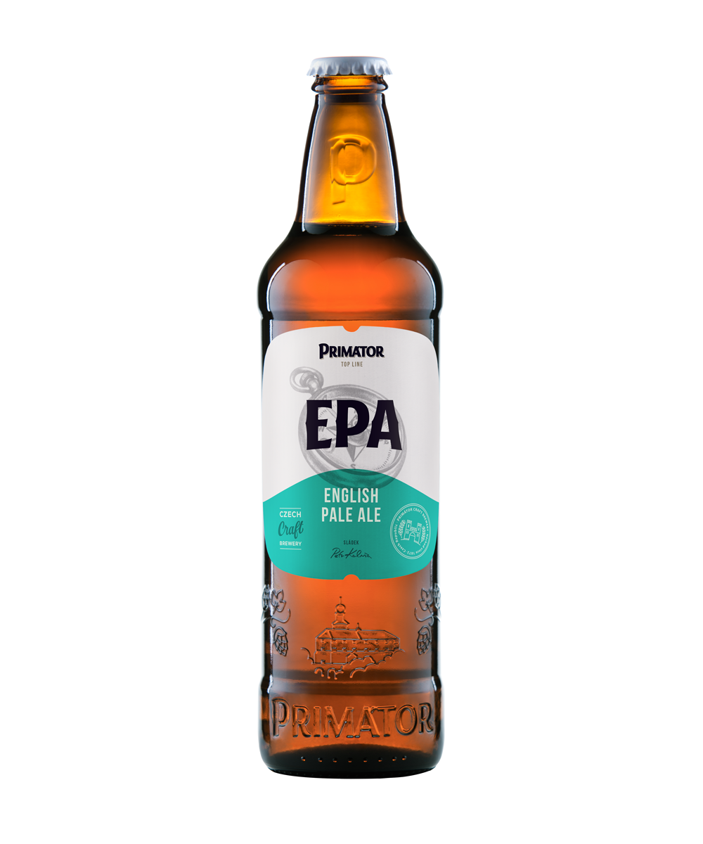 láhvové pivo PRIMÁTOR ENGLISCH PALE ALE